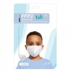 MASCARILLA FFP2 para Niños Protectora Desechable NR con 5 Capas 1 unidad INCA