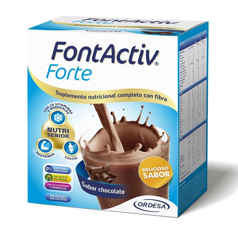 FONTACTIV Forte Sabor Chocolate 14 Sobres 30G