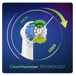 ORAL-B Recambios Precision Clean con CleanMaximiser 6 Unidades