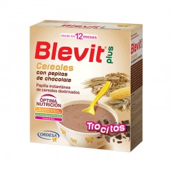 BLEVIT Trocitos Cereales con Pepitas de Chocolate Papilla 600g