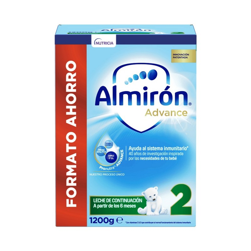 ALMIRÓN Advance 2 con Pronutra Leche de Continuación 1200gr NUEVA FÓRMULA