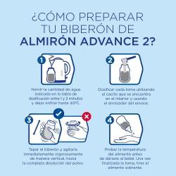 ALMIRÓN Advance 2 Duplo Leche de Continuación 2x800gr NUEVA FÓRMULA