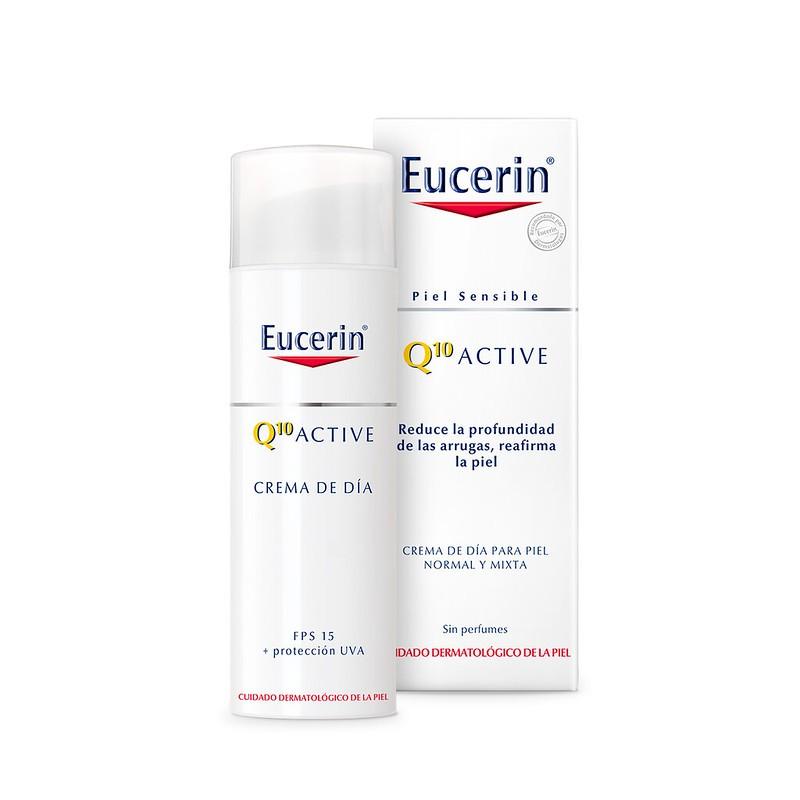 EUCERIN Q10 Active Antiarrugas Crema de Día Piel Normal y Mixta 50ml