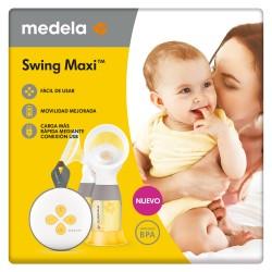 MEDELA Swing Maxi Sacaleches Eléctrico Doble Extracción