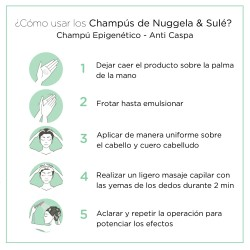 NUGGELA & SULÉ Champú Epigenético Anti Caspa 2x250ml