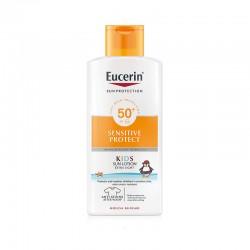 EUCERIN Sun Loción Infantil Sensitive Protect SPF50+ 400ml