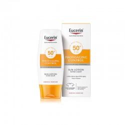 EUCERIN Sun Lotion Photoaging Control Extra Light Cuerpo spf50+ 150ml