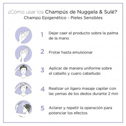 NUGGELA & SULÉ Champú Epigenético Pieles Sensibles 2x250ml
