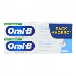 ORAL-B Pasta de Dientes Pro Repair Original Encías y Esmalte PACK AHORRO 2x100ml