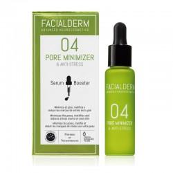 FACIALDERM Serum Booster 04 Reductor de Poros y Antiestrés 30ml