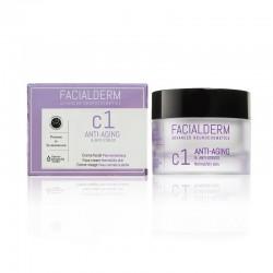 FACIALDERM Crema C1 Antiedad y Antiestrés para Piel Normal y Seca 50ml