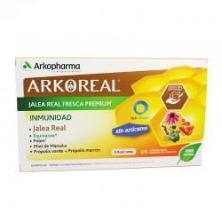 ARKOREAL Jalea Real Inmunidad Sin Azúcar 20 Ampollas