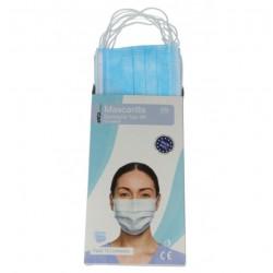Mascarillas Quirúrgicas Adulto IIR BFE 98% Pack 10 unidades INCA