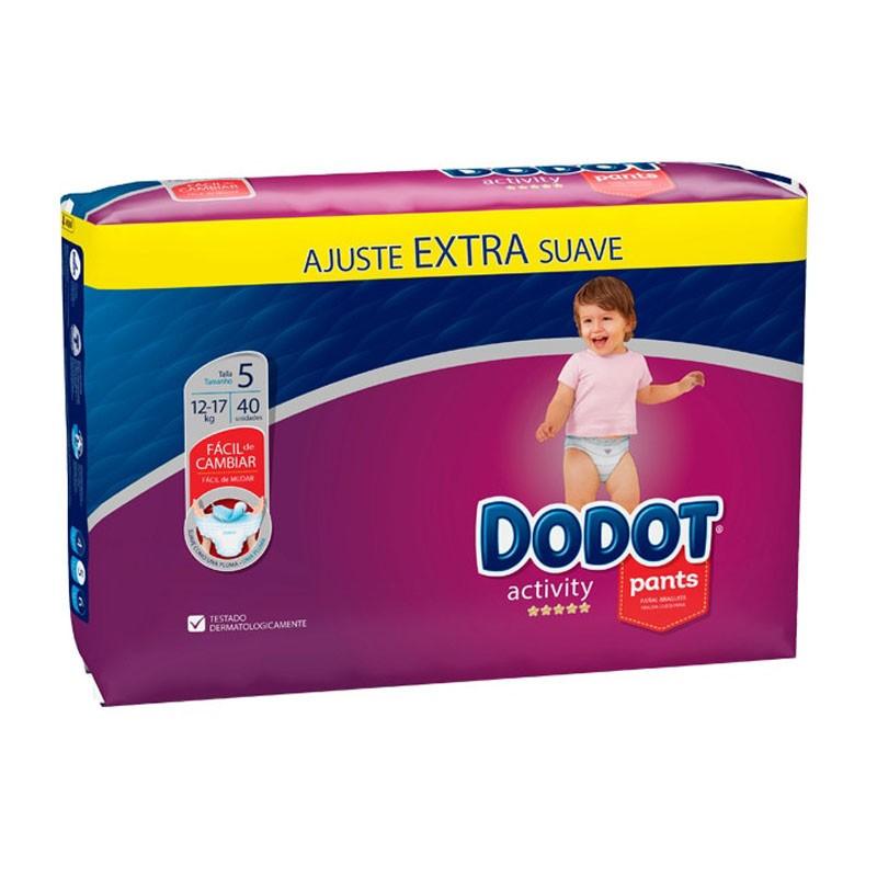 DODOT Pañales Activity Pants Talla 5 (12-17kg) 40 Unidades