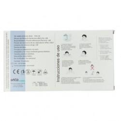 Mascarillas Quirúrgicas Fabricadas en España Blancas Adulto IIR Pack 10 unidades INCA