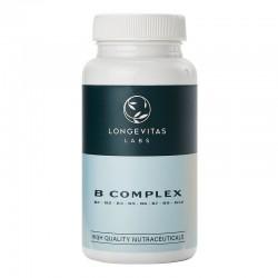 LONGEVITAS B Complex Multivitamínico Grupo B 60 Cápsulas