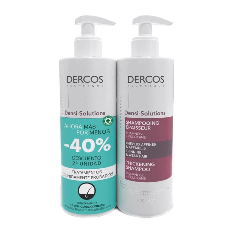 VICHY Dercos Densi Solutions Champú Densificador DUPLO 2x400ml