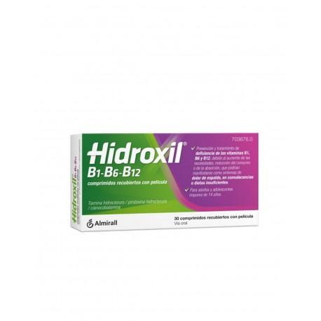 HIDROXIL B1-B6-B12 30 Comprimidos