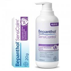 BEPANTHOL SensiControl Crema Emoliente Diaria 400ml + SensiCalm Crema 20g