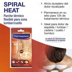 HANSAPLAST Spiral Heat Parches Térmicos Lumbar y Cuello 3 Unidades