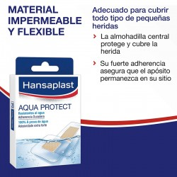 HANSAPLAST Aqua Protect 100% Impermeable 20 Apósitos