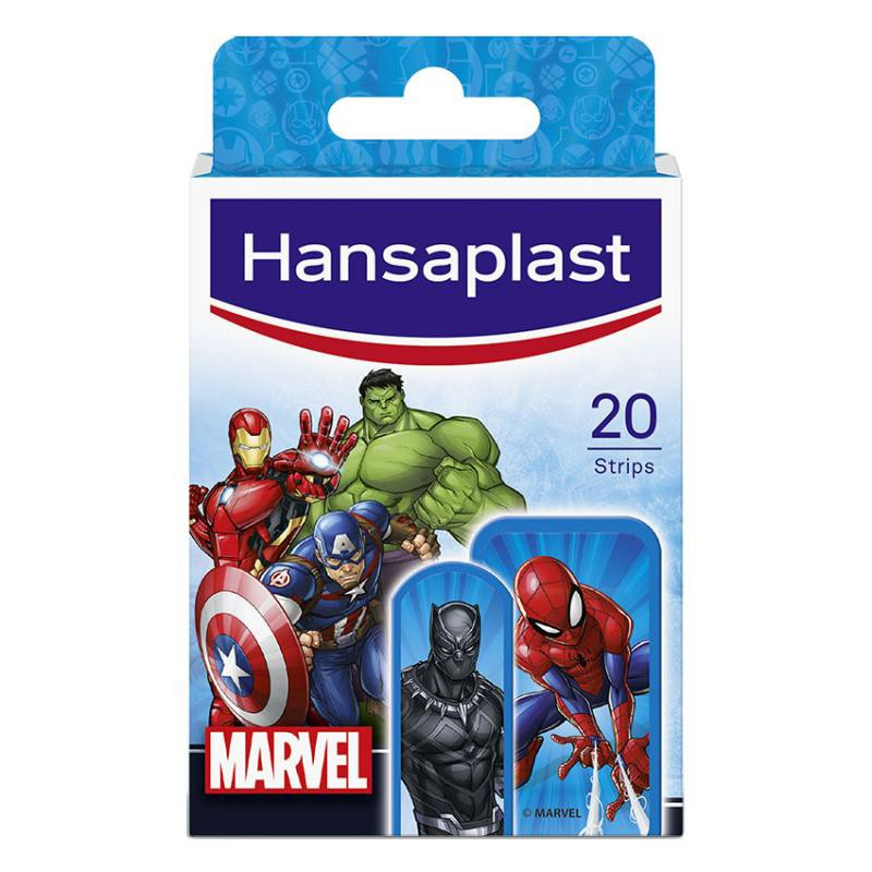 HANSAPLAST Marvel 20 Apósitos Infantiles