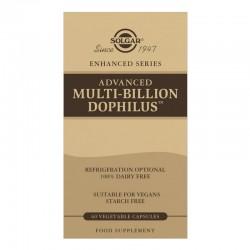 SOLGAR Multi Billion Dophilus Avanzado 60 Cápsulas Vegetales