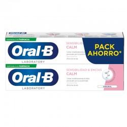 ORAL-B Pasta Dental Sensibilidad y Encías Calm Original PACK AHORRO 2x100ml