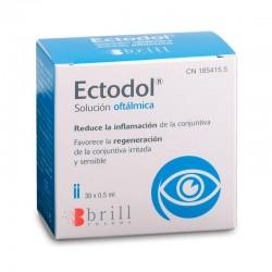ECTODOL Solución Oftálmica 30 Monodosis