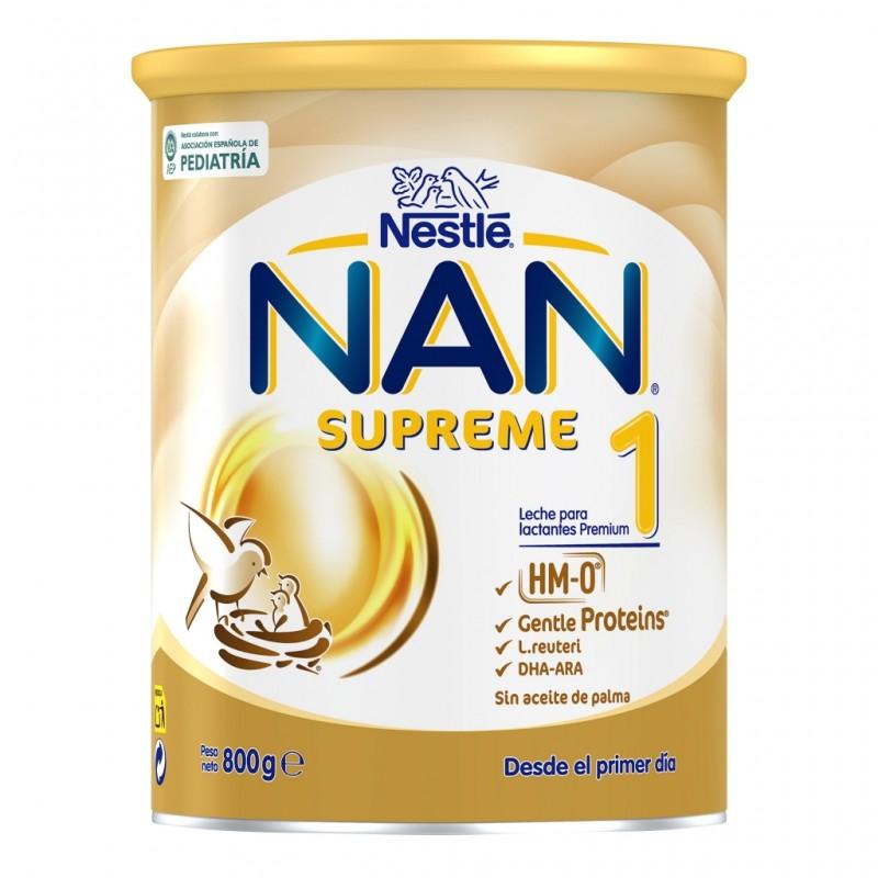 NAN Supreme 1 Leche para Lactantes en Polvo 800gr