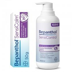 BEPANTHOL SensiControl Crema Emoliente diaria 400ml + BEPANTHOL SensiCalm Crema 50gr