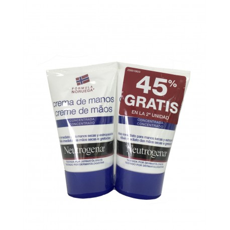 NEUTROGENA Crema de Manos Concentrada 2x50ML