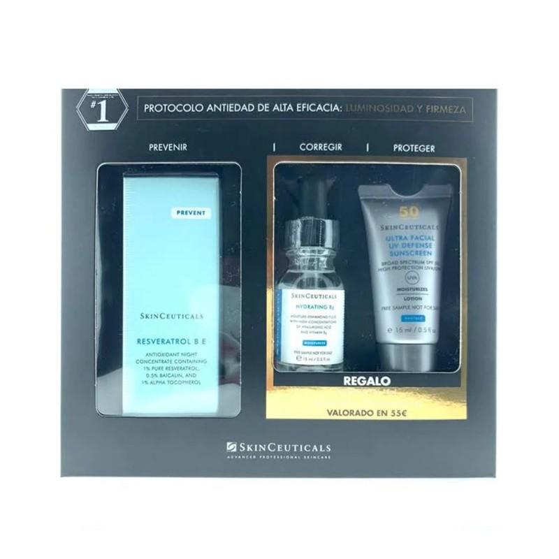SKINCEUTICALS Cofre Resveratrol B E + Hydrating B5 + Ultra Facial Defense SPF50