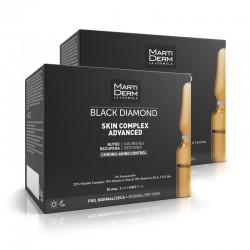 MARTIDERM Ampollas Black Diamond Skin Complex Advanced DUPLO 2x30 Ampollas