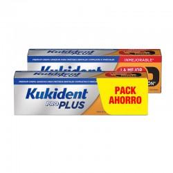KUKIDENT Pro Plus La Mejor Fijación DUPLO 2x40g