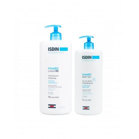 ISDIN Ureadin Pack Lotion 10 1000ML + Bath Gel 400ML