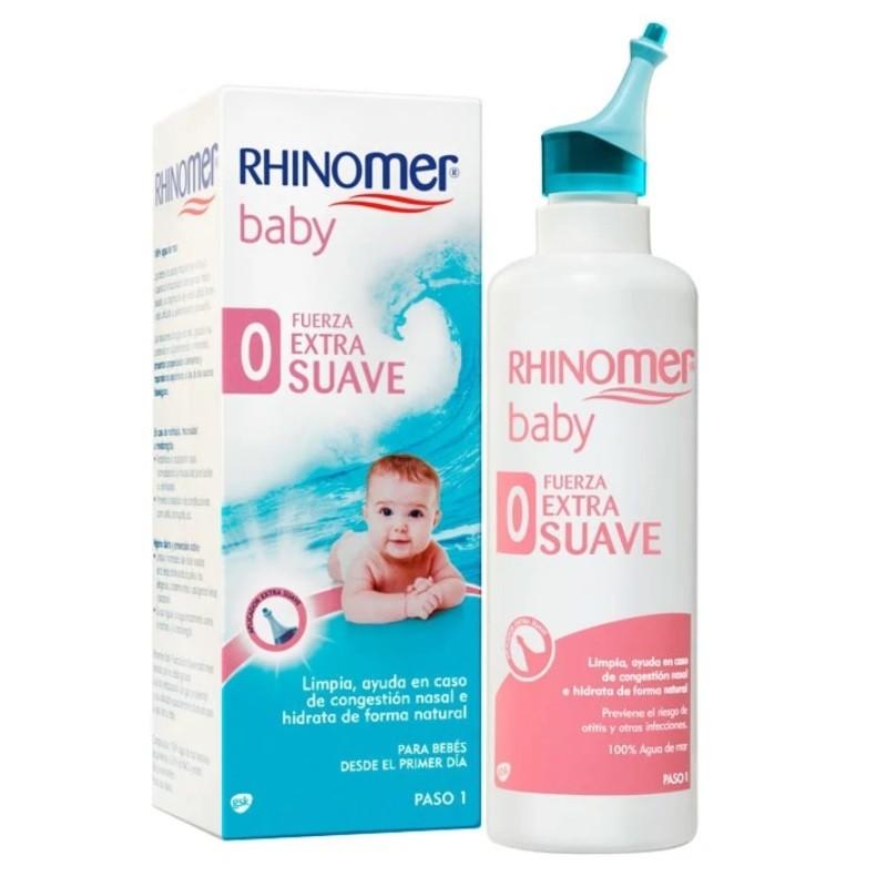 RHINOMER BABY Limpieza Nasal Fuerza 0 Extra Suave 115ml