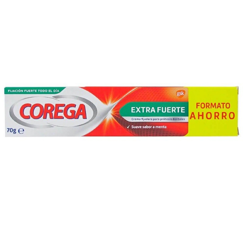 Corega Extra Fuerte Crema Fijadora 70g