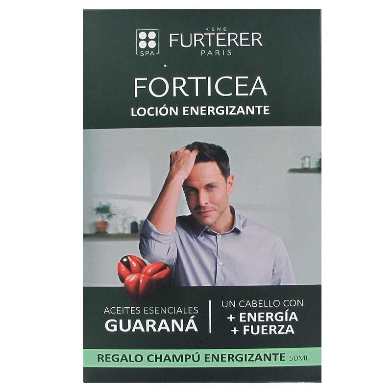 RENE FURTERER Forticea Loción Energizante 100ml + Champú Energizante 50ml de REGALO