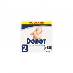 DODOT Pañales Sensitive Talla 2 x88 Unidades