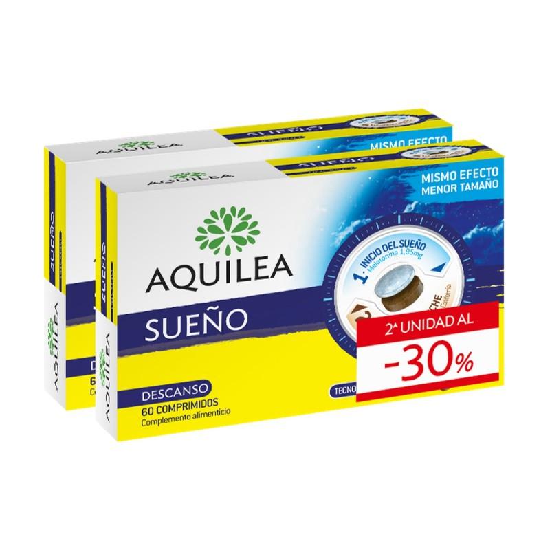 AQUILEA Sueño DUPLO 2x60 Comprimidos Bicapa (2ª Unidad al 30% Descuento)