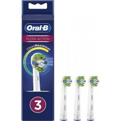 ORAL-B Recambios Floss Action 3 cabezales