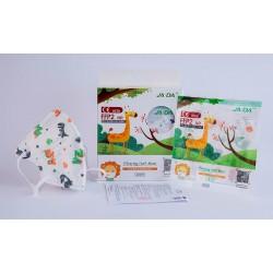 Mascarillas FFP2 Infantiles Estampada Dinosaurios Caja 10 unidades