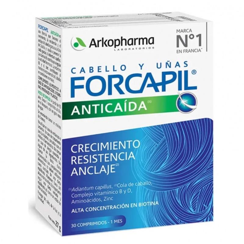 FORCAPIL Anticaída Cabello y Uñas 30 Comprimidos - Arkopharma