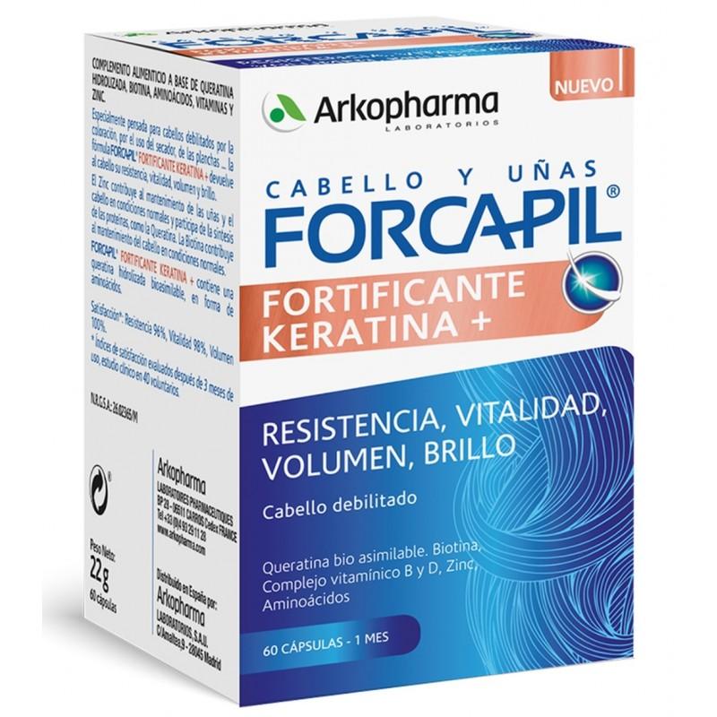 FORCAPIL Fortificante Keratina+ 60 cápsulas