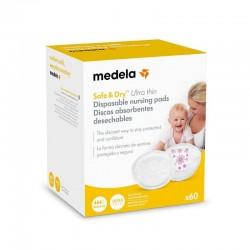 MEDELA Discos Absorbentes Desechables Safe&Dry Ultra thin 60 Uds