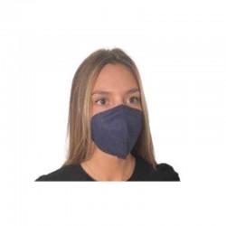 MASCARILLA FFP2 Homologada Bipsalut Certificado CE Europeo KADI 1 Mascarilla Color Azul Marino