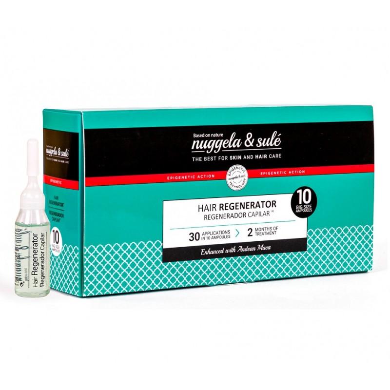 NUGGELA & SULÉ Ampollas Regeneradoras Capilares 10 ampollas