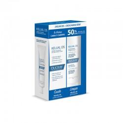 DUCRAY KELUAL DS Crema 40ml + Kelual DS Gel Limpiador 200ml 50% DECUENTO
