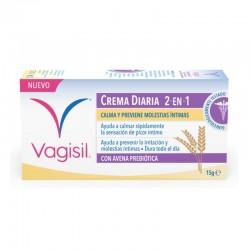 VAGISIL Crema Diaria 2 en 1 con Avena Probiótica 15gr
